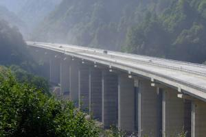 The Anatolia motorway in Turkey