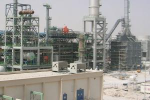 The ORYX GTL plant in Qatar