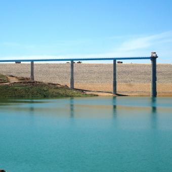 Algeria - Kerrada dam
