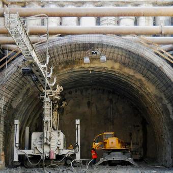 Jonica Motorway, Megalot 2, Baldaia II tunnel (Italy)