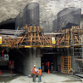 CERRO de AGUILA Hydroelectric plant (PERU)
