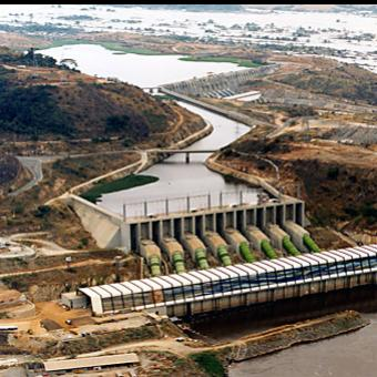 Democratic Republic of Congo - Inga Hydroelectric plant