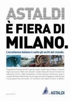 Expo 2015, Astaldi è Fiera di Milano