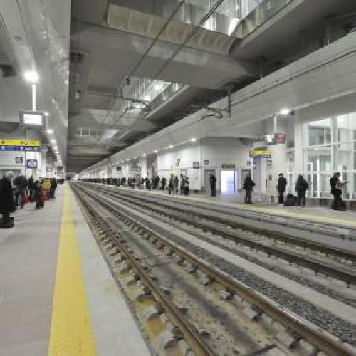 Bologna Centrale High-Speed Railway Station