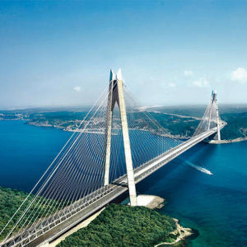 Third Bridge on Bosphorus