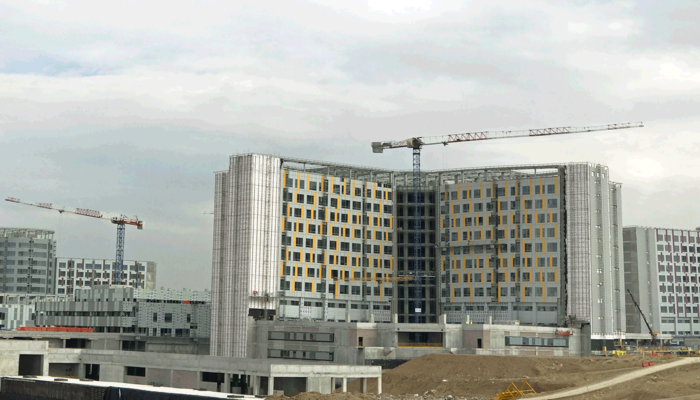 Etlik Integrated Health Campus in Ankara