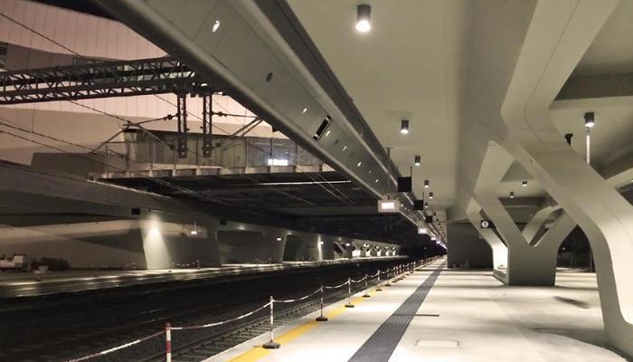 Naples-Afragola HSR Station