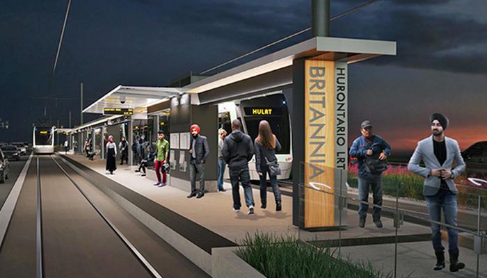 Hurontario Light Rail Transit (HuLRT)